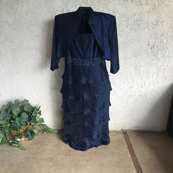 c96bec433ed R M RICHARDS Formal Mother of the Bride Dress. Listing Price   63.00